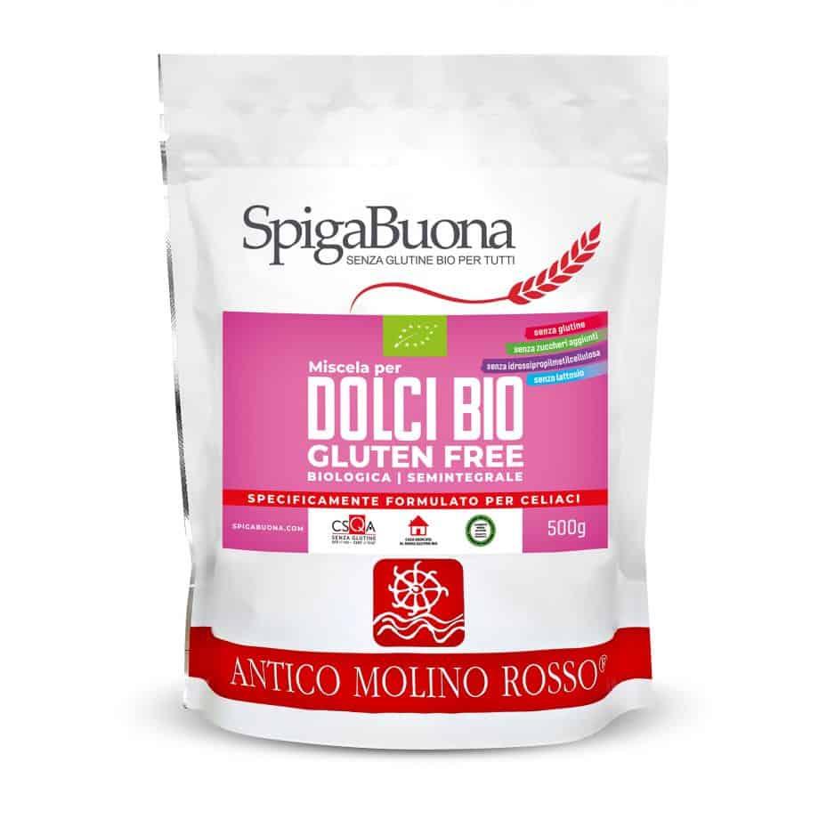 mix dolci bio senza glutine spigabuona