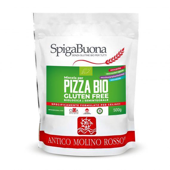 mix pizza bio senza glutine spigabuona