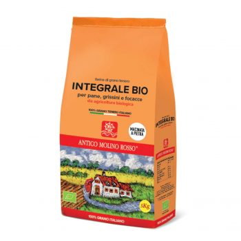 farina integrale di grano tenero bio 5kg