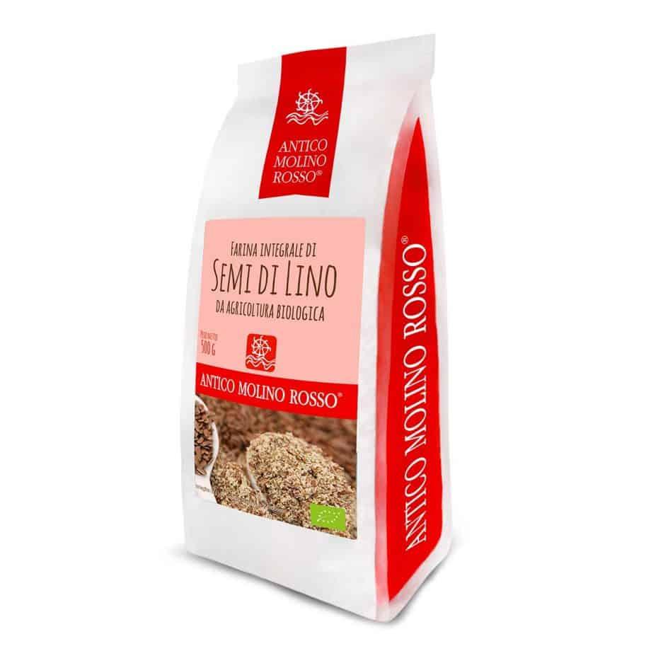 farina semi di lino bio antico molino rosso