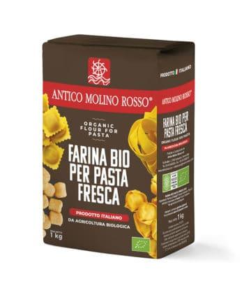 farina per pasta fresca biologica antico molino rosso