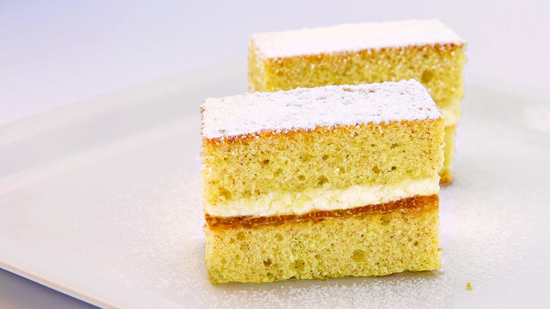 Torta doppio strato farina biologica