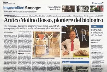 Antico Molino Rosso, pioniere del biologico